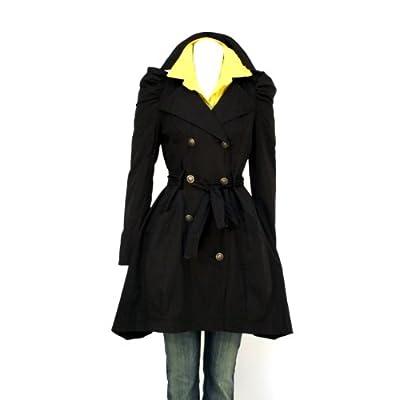 damen mantel damenmantel tailliert schwarz verschiedene gr en. Black Bedroom Furniture Sets. Home Design Ideas