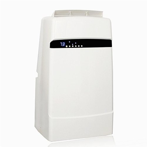 Whynter 12,000 Btu Dual Hose Portable Air Conditioner, Frost White (Arc-12Sd) front-567370