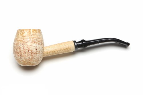 Missouri Meerschaum Diplomat Corncob Tobacco Pipe Bent