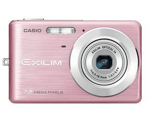 "Casio EX-Z77PK Compact Digital Camera - Pink (7MP, 3 x Optical Zoom) 2.6"" TFT"