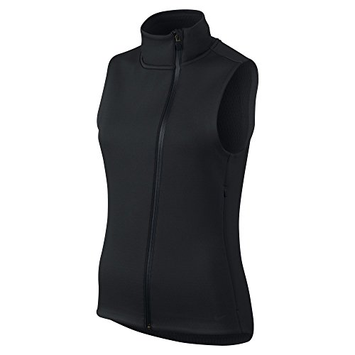 Nike Women's Therma-Sphere Max Training Vest, Black (Small)