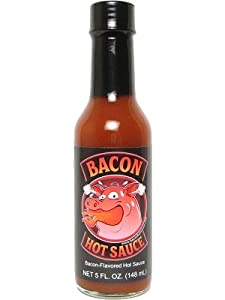 6 BOTTLES! Bacon Hot Sauce, 5oz.