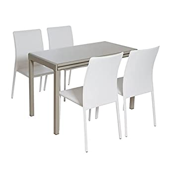 Lote de mesa con cuatro sillas
