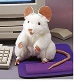 Folkmanis Puppets Handpuppe Weiße Maus