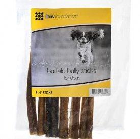 buffalo bully sticks for dogs 6 6 sticks per bag pet su. Black Bedroom Furniture Sets. Home Design Ideas