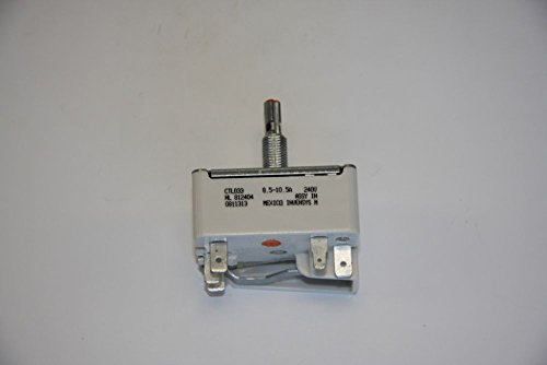 """Ge Part Number Wb23M1 8"""" Inf Ctrl front-106709"""