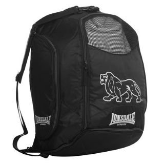Lonsdale 2 in 1 Holdall and Backpack