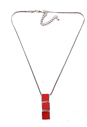 teac-rose-peach-chic-ladies-triple-drop-youthful-inspired-minimalistic-necklacezx79