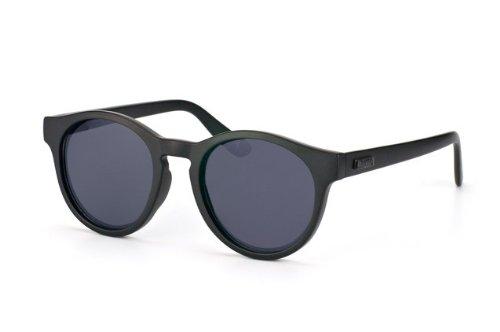 Le Specs Hey Macarena ONE SIZE, matte black w smoke mono lens