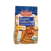Arrowhead Mills Gluten Free Organic Pancake & Waffle Mix (6x26oz) by Arrowhead Mills