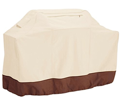 Best Price Teika BBQ Grill Cover Protection - Medium BBQ Cover - Waterproof Material - Two-tone Colo...
