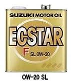 SUZUKI/スズキ純正 ECSTAR エクスターF SM/GF4 0W-20 3L エンジンオイル 純正品番:99000-21A70-036