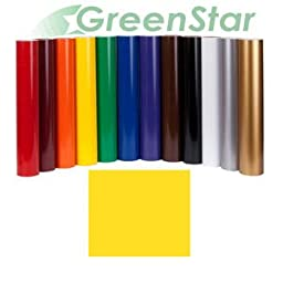 GreenStar Sun Flower Yellow Sign Vinyl 24\