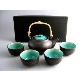 Why Choose Japanese Ocean Blue Five Piece Teaset