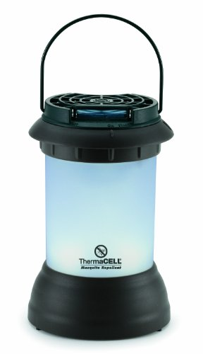 ThermaCELL MR-9S Mosquito Repellent Pest Control Outdoor and Camping Cordless Lantern, Dark Bronze