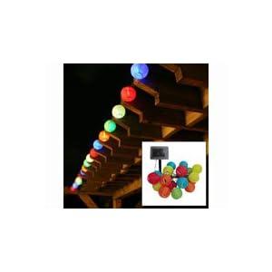 Smart Solar 3711MR20 20 LED Solar Chinese Lantern String Lights: Amazon.ca: Patio, Lawn & Garden