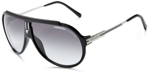 Carrera Unisex Endurance/L Black / Palladium Frame/Grey Gradient Lens Metal/Plastic Sunglasses
