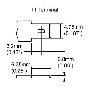 B.B. Battery 12V 3Ah Battery, T1 Terminal BP3-12-T1