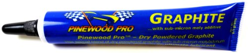 Pinewood Derby Dry Graphite with Moly additive
