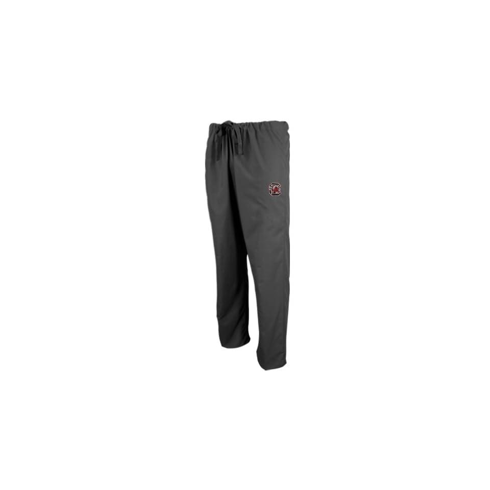 NCAA South Carolina Gamecocks Black Scrub Pants (Small)