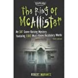 img - for The Ring of McAllister: A Score-Raising Mystery Featuring 1,046 Must-Know SAT Vocabulary Words book / textbook / text book