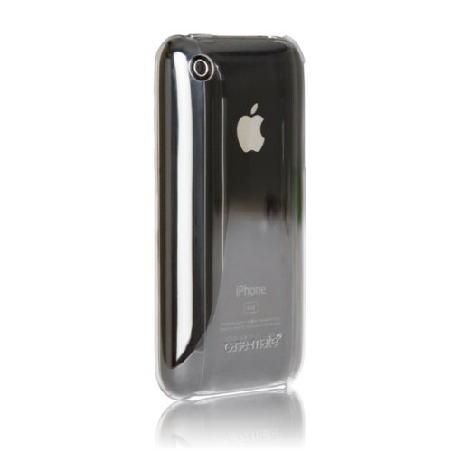 Case-Mate 日本正規品 iPhone 3G / 3GS Barely There Case with Screen Protector, Clear ベアリー・ゼア ケース (液晶保護シート つき) クリアー IPH3GBT-CLR