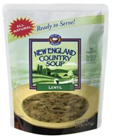 New England Country Soup Tm Lentil Soup from New England Country Soup tm, 15-Ounce Microwavable, Ready-to-Serve Pouch (Pack of 6) at Sears.com