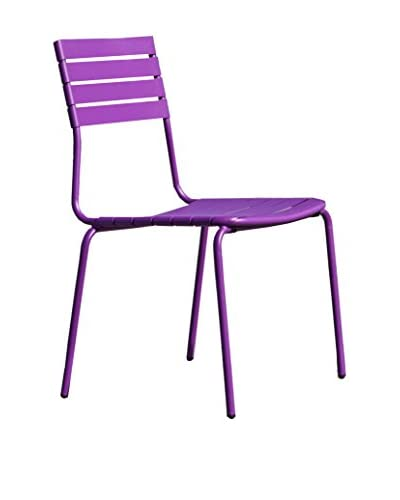Contemporary Living Set Silla 4 Uds. Gallipoli Morado