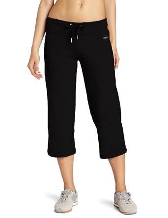 (清仓)Calvin Klein Performance Drawstring女款弹力八分裤浅灰$12.08