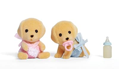 Calico Critters Yellow Lab Twins from International Playthings