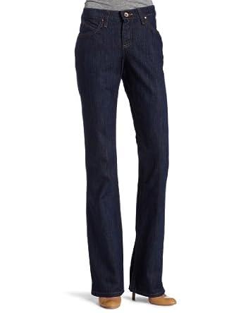 Wrangler Juniors' Cash Wild Blue Reins Vented Boot Cut Jean, Wild Blue Reins, 15x34