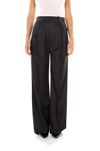 15P5004115001-Givenchy-Pantalons-Femme-Laine-Noir