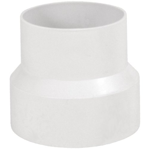 """Brand New Deflecto Plastic Reducer 4"""" To 3"""" front-551374"""
