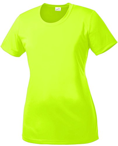 Joe 39 s usa tm women 39 s all sport neon color high visibility for Neon coloured t shirts