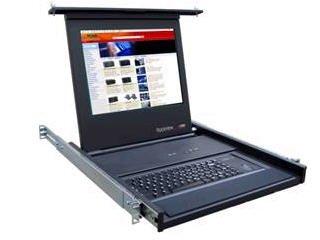 Rose Electronics Rv1-Ckvm17E/U 1U) Lcd, Drawer W/Lcd & Keyboard With Trackball