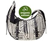 OiOi Changing Bag - The Hobo - Ethnic Monochrome Slouch