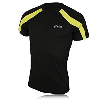 ASICS Volt Run Short Sleeve Running T-Shirt - XX Large