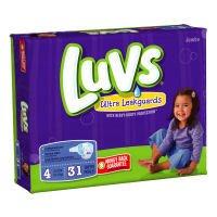 Luvs Ultra Leakguards - Jumbo Pack- Sz 4- 31