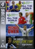 Soccer Collection - All the Goals / Michael Own World at His Feet / Pro Training Skill Factor Alan Shearer [DVD]