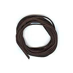 UnCommon Artistry Dark Espresso Brown Faux Leather Suede Necklace Cord 10 Feet