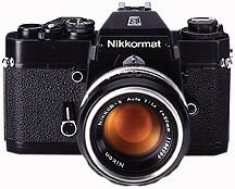 Nikkormat EL-W SLR Film Camera