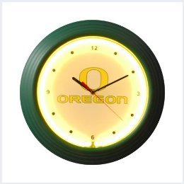 Oregon Neon Clock