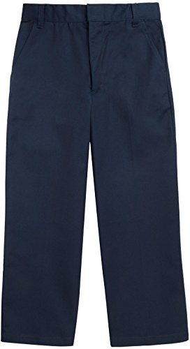 French Toast School Uniforms Double Knee Pant Workwear Finish Boys navy 7