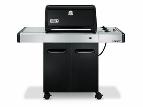 Weber 4421001 Spirit E-310 LP Gas Grill, Black