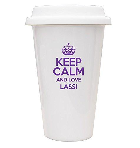 Keep Calm and Love Violet Lassi ECO Mug 2601 TXT