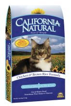 Detail image California Natural Chicken & Brown Rice Cat and Kitten Dry Cat Food