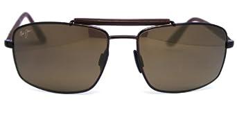 Maui Jim Sunglasses - Manele Bay / Frame: Gloss Brown Lens: Polarized HCL Bronze