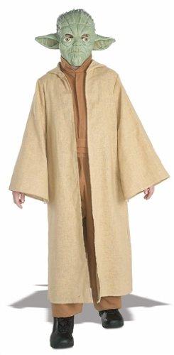 Star Wars Yoda Deluxe Costume da bambino, 3/4 anni, S