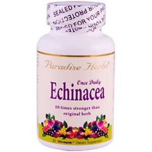 Paradise Herbs Echinacea Vegetarian Capsules, 30