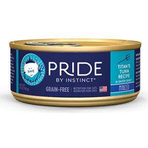 Nature's Variety Pride By Instinct Grain-Free Canned Cat Food - Titan's Tuna Recipe